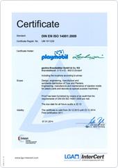 certification política de ambiente